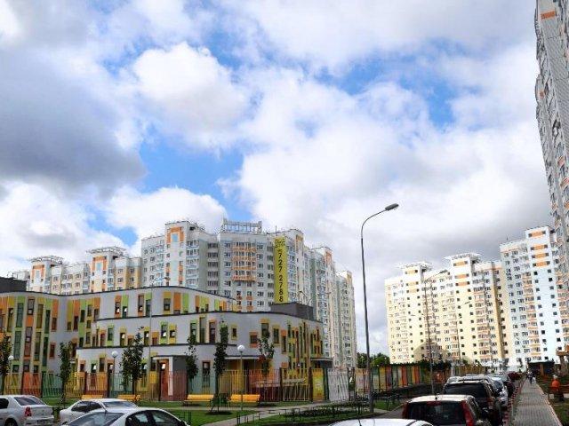 Микрорайон на ул. Перовская